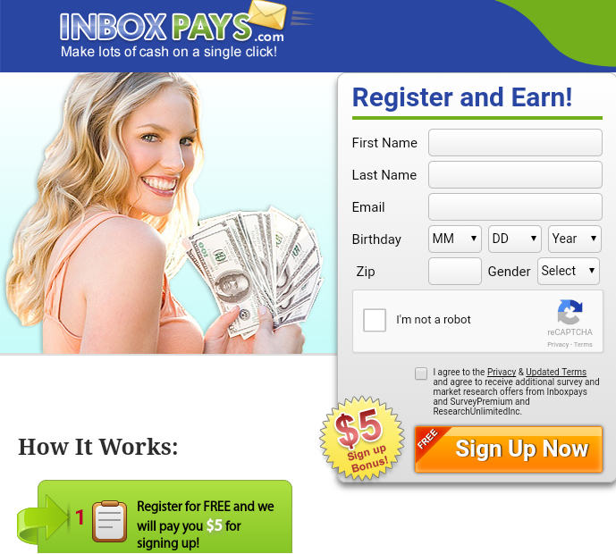 Inbox Pays Home Page