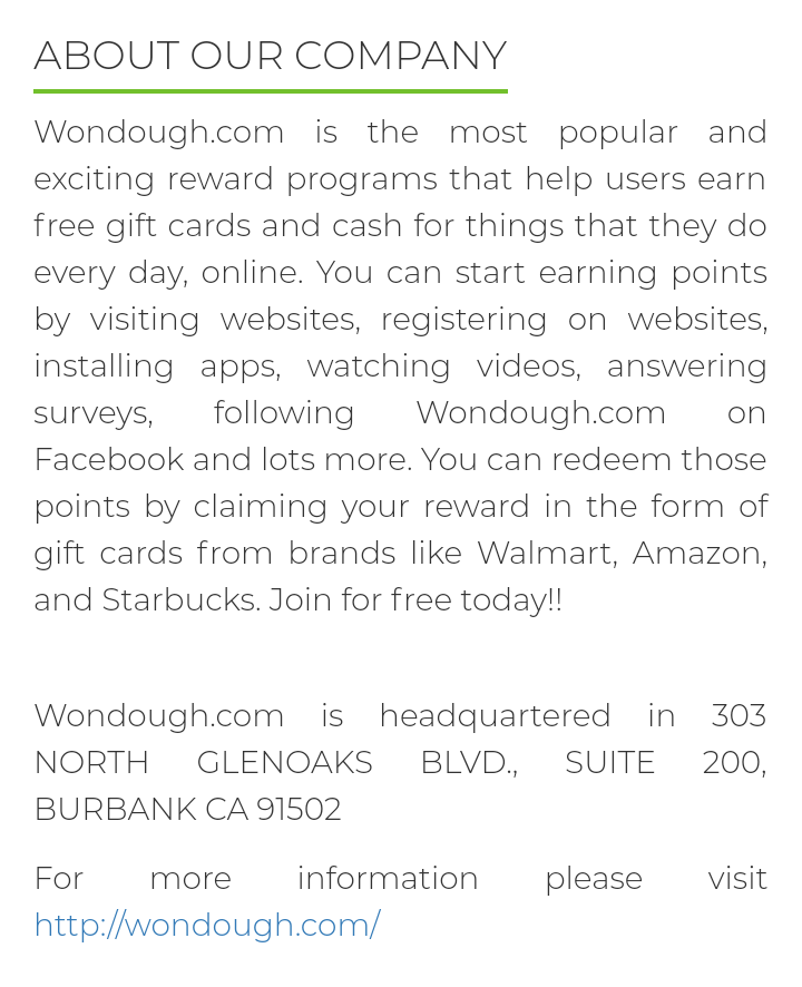 Wondough About Us