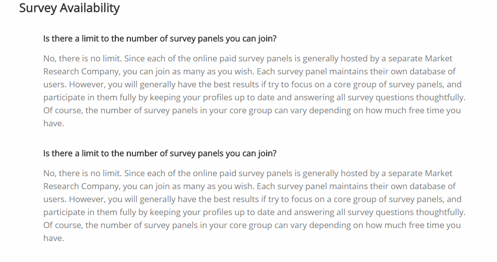 GetPaidSurveys FAQ (2)