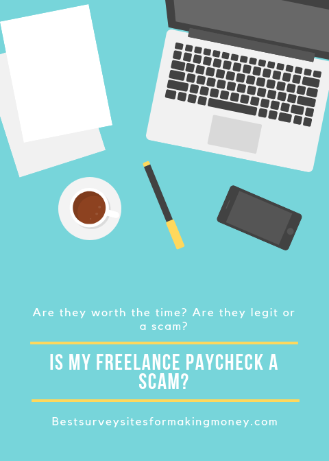 Is My Freelance Paycheck A Scam